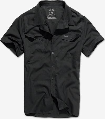 Brandit Hemd 'Roadstar' in schwarz, Produktansicht