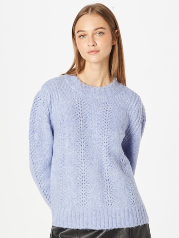 PIECES Sweater 'Bibi' in Purple
