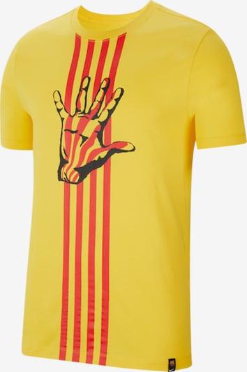 NIKE T-Shirt in gelb / rot / schwarz, Produktansicht