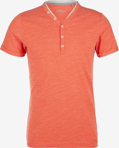 s.Oliver Shirt in orange, Produktansicht