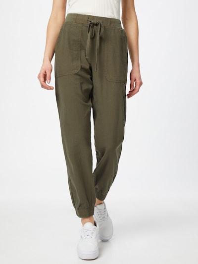 Kaffe Kalhoty 'Naya' - tmavě zelená, Model/ka