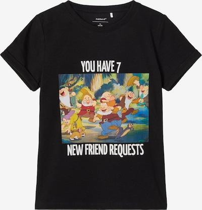 NAME IT T-Shirt in schwarz, Produktansicht