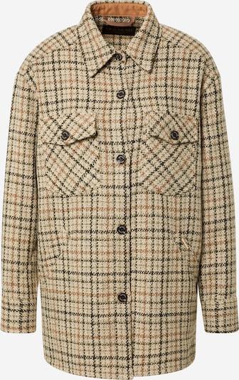 MOS MOSH Starpsezonu jaka, krāsa - smilškrāsas / olīvzaļš / jauktu krāsu, Preces skats