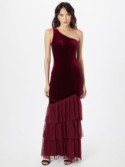 Lipsy Kleid in burgunder, Modelansicht