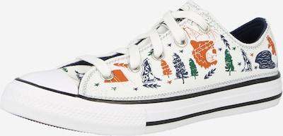 CONVERSE Sneaker in navy / grün / dunkelorange / weiß, Produktansicht