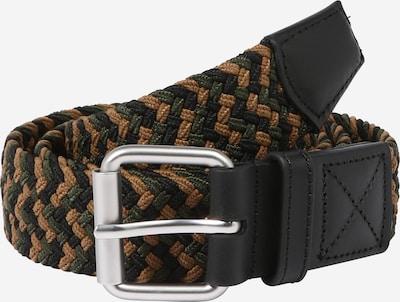 Carhartt WIP Cinturón 'Jackson' en mezcla de colores / negro, Vista del producto