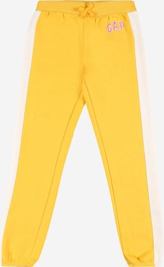 GAP Pantalon en safran / jaune pastel / rose, Vue avec produit