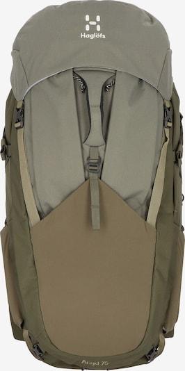 Haglöfs Sac à dos de sport en kaki, Vue avec produit