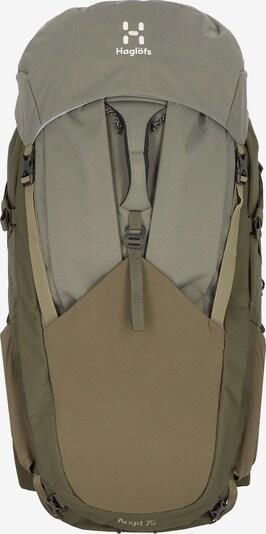 Haglöfs Sportrucksack in khaki, Produktansicht