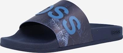 BOSS Casual Šľapky 'Bay' - námornícka modrá / dymovo modrá, Produkt