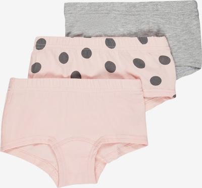 NAME IT Unterhose in grau / rosa / schwarz, Produktansicht