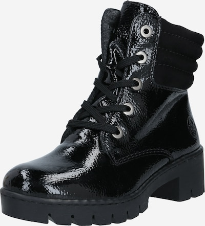 RIEKER Lace-up bootie in Black, Item view