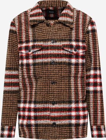 BOSS Casual Between-season jacket in Brown