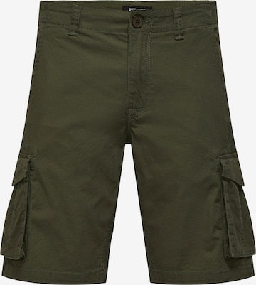 Pantalon cargo 'Mike' Only & Sons en vert