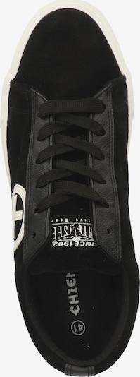 CHIEMSEE Sneakers laag in Zwart / Wit 5QJNcInF