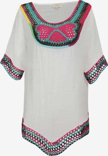 usha FESTIVAL Tuniek in de kleur Turquoise / Spar / Pink / Wit, Productweergave