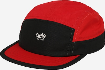 CIELE ATHLETICS Gorra 'October' en rojo / negro, Vista del producto