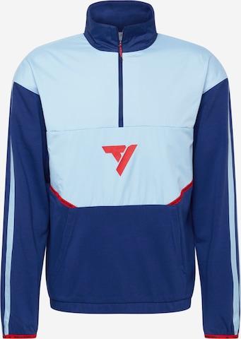 Hanorac sport de la ADIDAS PERFORMANCE pe albastru