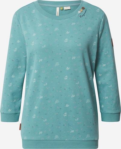 Ragwear Sweat-shirt en vert, Vue avec produit