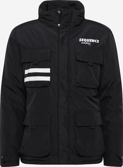 Redefined Rebel Overgangsjakke 'Rex' i sort / hvid, Produktvisning
