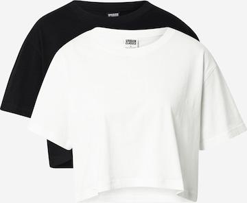 Urban Classics Oversize póló - fehér