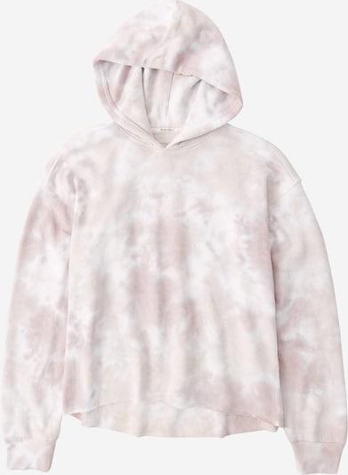 Abercrombie & Fitch Sweatshirt in taupe / weiß, Produktansicht