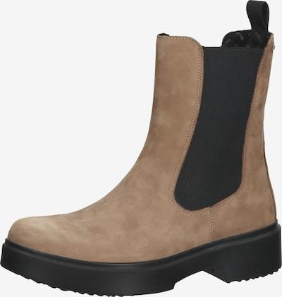 Legero Chelsea Boots en beige clair / noir, Vue avec produit