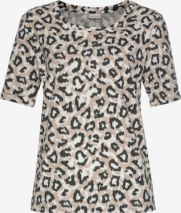 LASCANA Pajama Shirt in Mixed colors