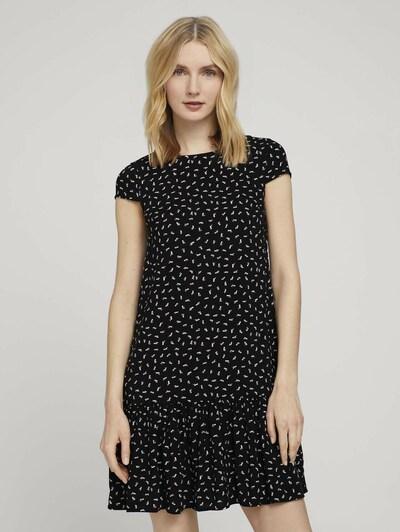 Rochie TOM TAILOR pe negru / alb, Vizualizare model