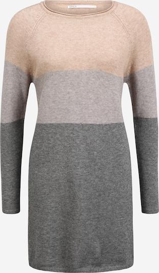 Only (Petite) Kleid 'LILLO' in grau / greige / dunkelgrau / rosé, Produktansicht