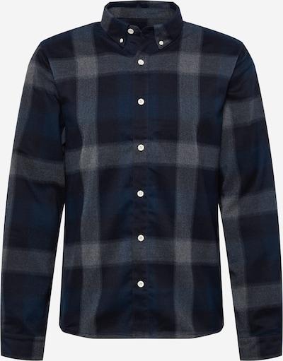 Revolution Hemd in navy / graumeliert / schwarz, Produktansicht