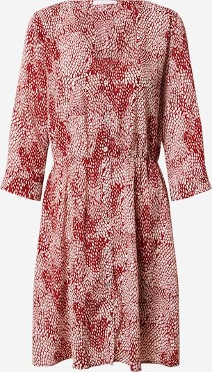 Freebird Kleid in burgunder / weiß, Produktansicht