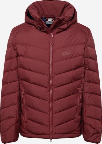 JACK WOLFSKIN Winter jacket 'Fairmont' in Red