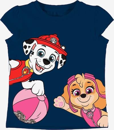 NAME IT Majica 'Paw Patrol' u safirno plava / konjak / miks boja / roza / bijela, Pregled proizvoda
