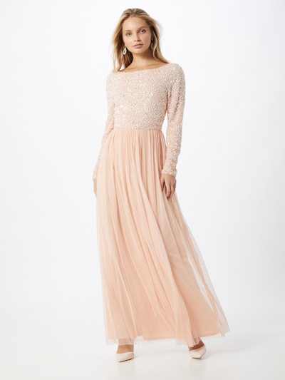 LACE & BEADS Kleid 'Carrey' in rosé / puder, Modelansicht