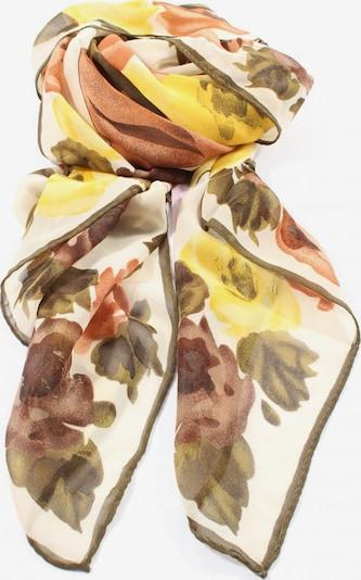 MONDI Halstuch in One Size in pastellgelb / khaki / weiß, Produktansicht