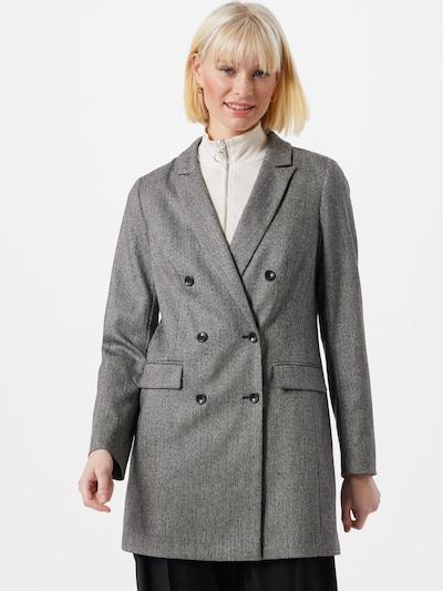 Maison 123 Mantel 'THEA B CHEVRONS' in grau / schwarz, Modelansicht