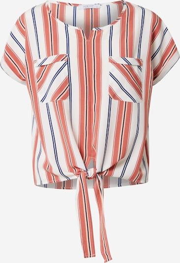 Hailys Bluza 'Loretta' | mornarska / korala / pastelno oranžna / bela barva, Prikaz izdelka