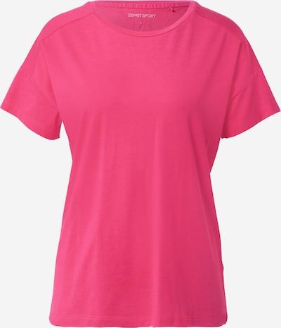 ESPRIT SPORT Functioneel shirt in de kleur Smoky blue / Fuchsia / Zwart / Wit, Productweergave