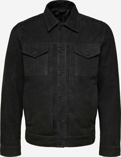 SELECTED HOMME Tussenjas in de kleur Zwart, Productweergave