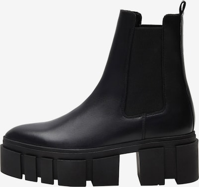 MANGO Chelsea Boots 'Tractor' en noir, Vue avec produit
