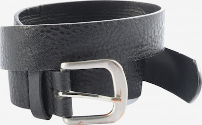 Jennyfer Lederimitatgürtel in XS-XL in schwarz, Produktansicht