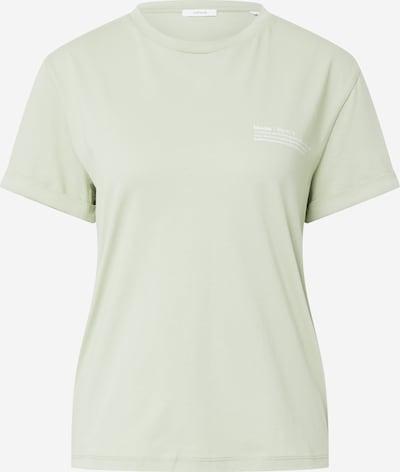 OPUS T-shirt 'Serz Bloom' en vert clair, Vue avec produit