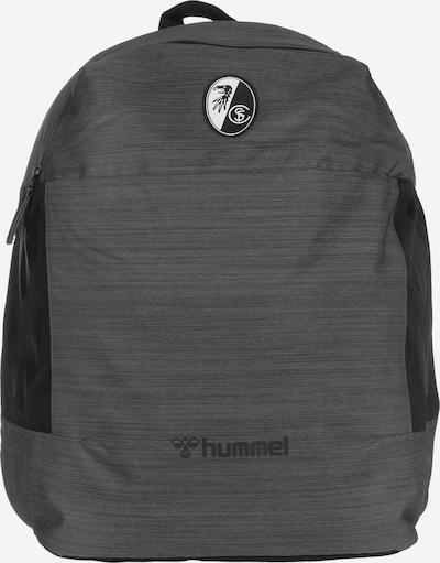Hummel Rucksack in anthrazit / schwarz / weiß, Produktansicht