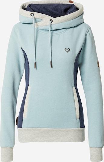 Alife and Kickin Sweatshirt 'Jilan' in Navy / Light blue / Grey, Item view