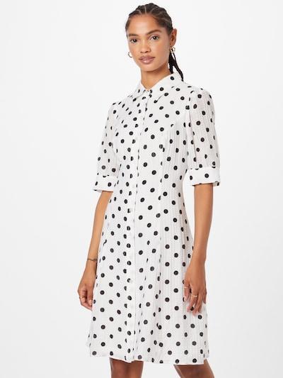 DKNY Shirt Dress in Black / White, View model