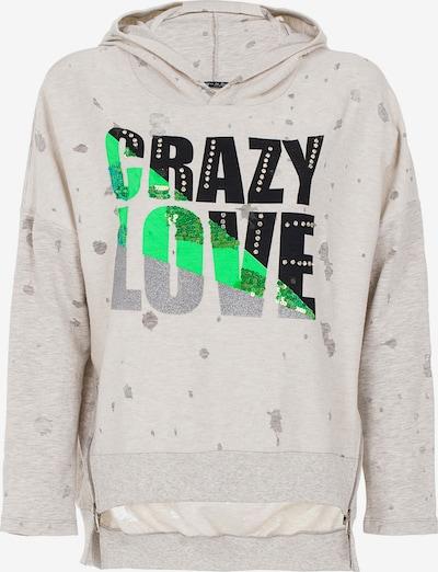 CIPO & BAXX Kapuzensweatshirt in weiß, Produktansicht