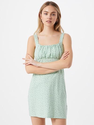 HOLLISTER Vasaras kleita 'BARE' zaļš / jauktu krāsu, Modeļa skats