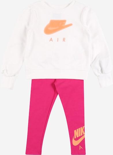 Nike Sportswear Conjunto en naranja / rosa oscuro / blanco, Vista del producto