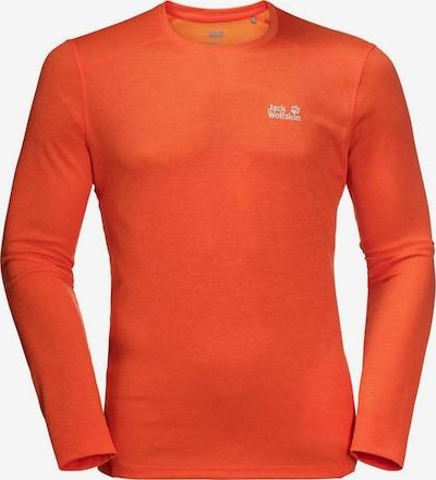 JACK WOLFSKIN Sweatshirt in orange, Produktansicht